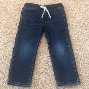Sz 3 JCrew crew cuts pull up jeans.  Super cute!
